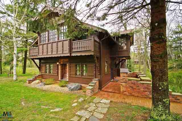 Lakefront Cabin In Lexington Mi Wow Dream Home Pinterest