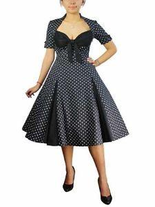 Vintage Style Plus Size Dresses Uk 73