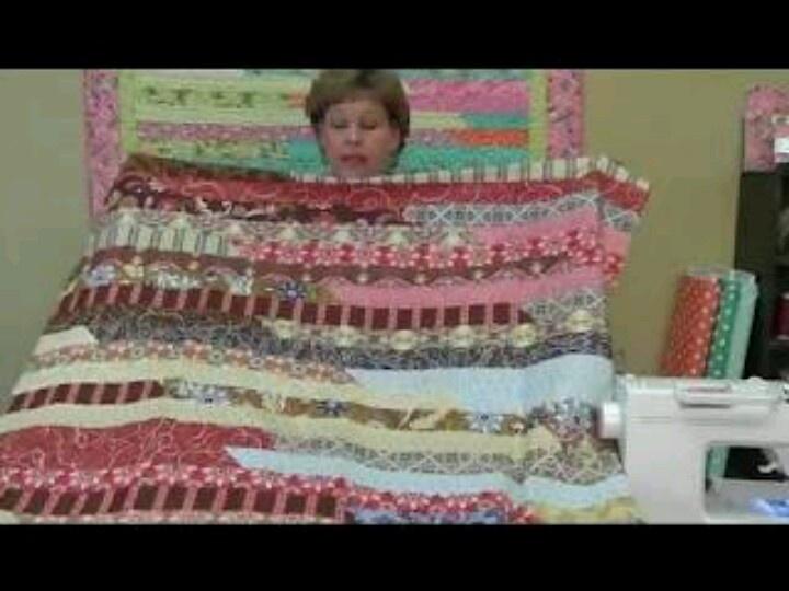 Jelly Roll Quilt Modern Quilting 3 Pinterest