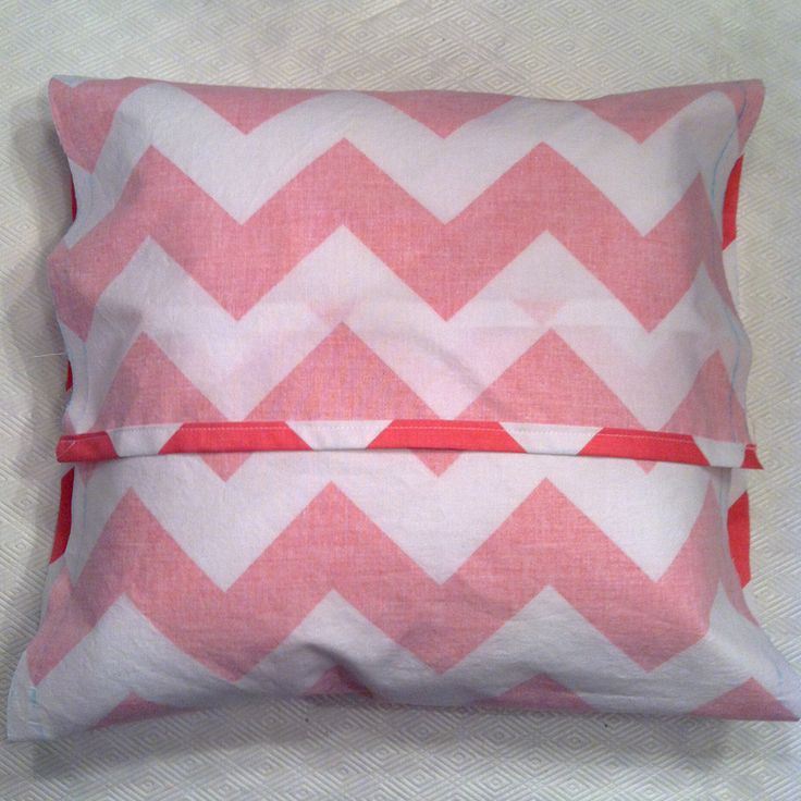 Diy pocket pillow case Someday I will Knit and Sew Pinterest