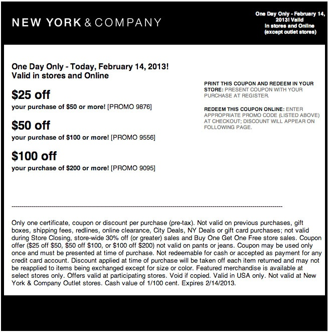 Ny and co coupon codes