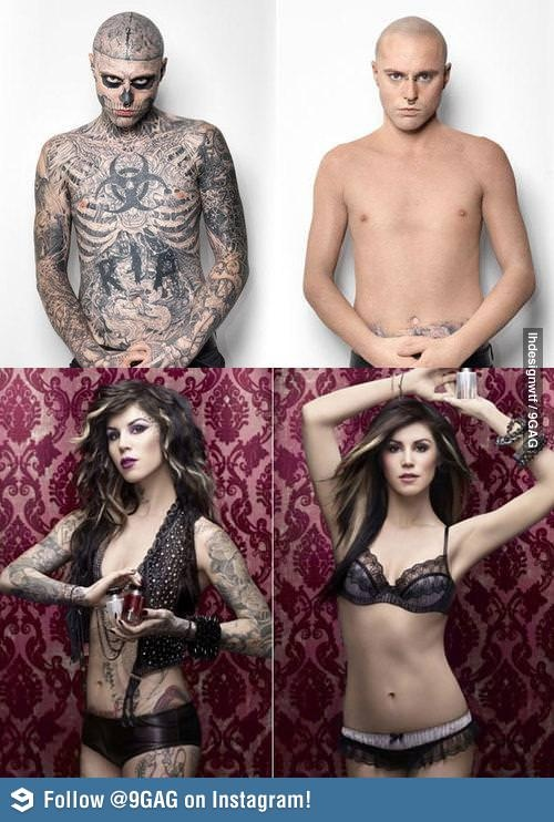 Stunning Kat Von D Tattoo Cover Up Contemporary - Styles & Ideas ...