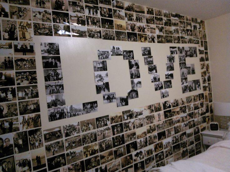 Фото поздравления на стену