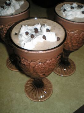 Skinny Frozen Hot Chocolate | Health Eats | Pinterest