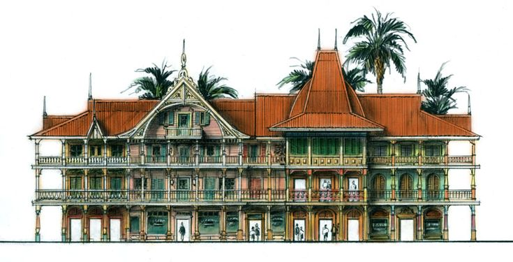Caribbean architecture Kenn Hardy Architecture Pinterest