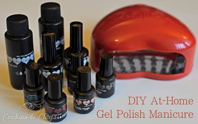 DIY At-Home Gel Polish Manicure - tutorial using Nailuv kit and LED