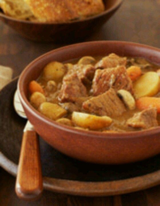 Easy Beef Stew-Crockpot | Bon Appetit | Pinterest