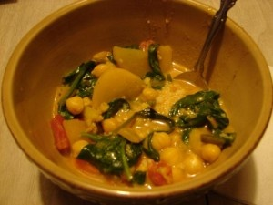 Curried Vegetable and Chickpea Stew | Delicious Recipes | Pinterest
