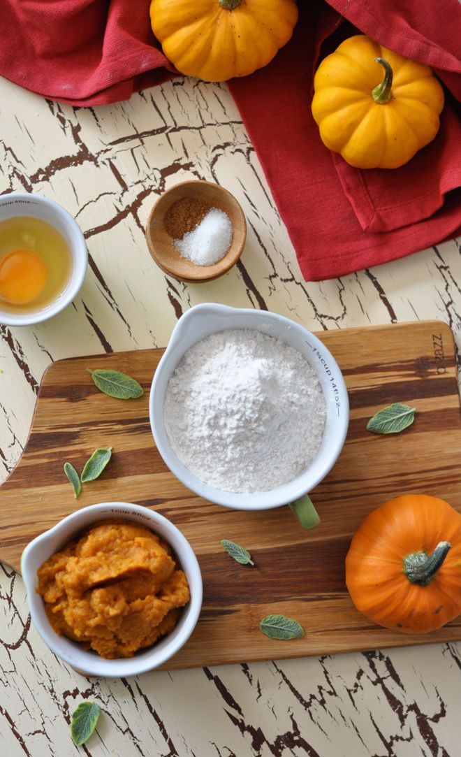 Pumpkin Gnocchi with Sage & Browned Butter Sauce