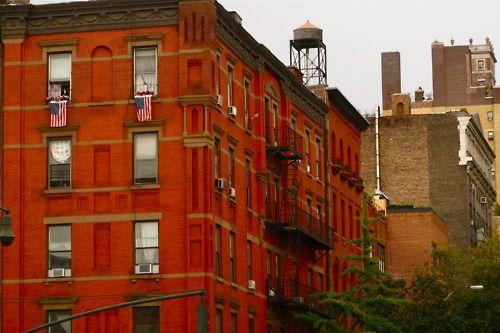 Red brick, NYC.