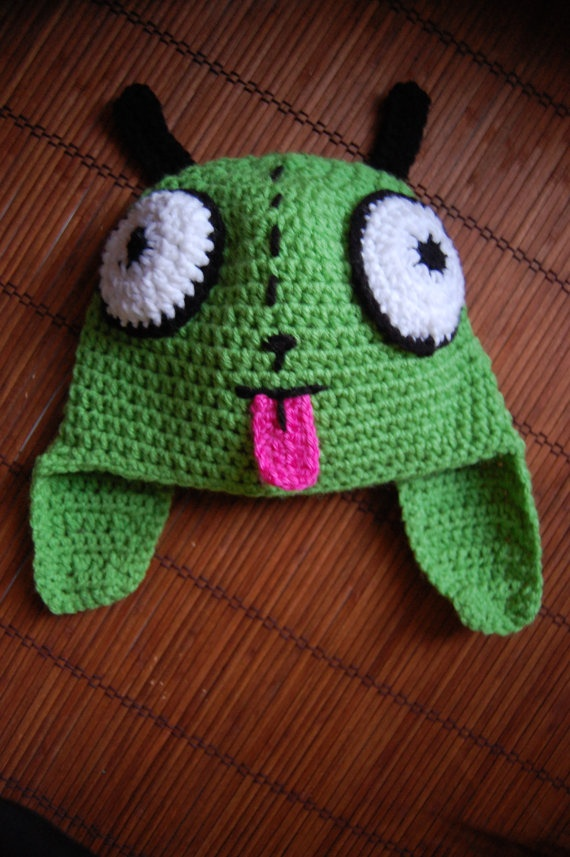 invader zim just too darn cute! Pinterest