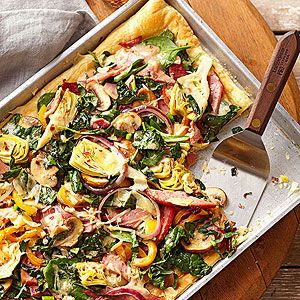 Eat Your Greens Pizza - from Midwest Living