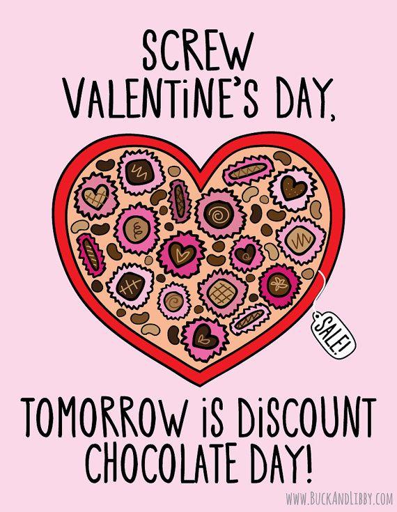 anti valentines day card uk