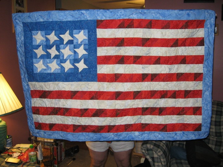flag wall hanging quilts and projects pinterest. Black Bedroom Furniture Sets. Home Design Ideas