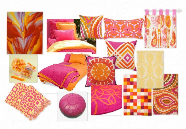 Pink and orange room ideas submited images - Orange and pink bedroom ideas ...