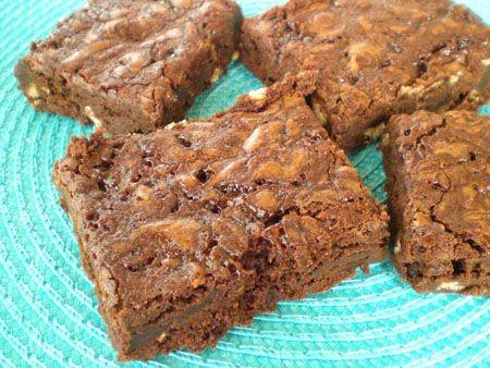 Twix Caramel Brownies - Live a Sweet Life