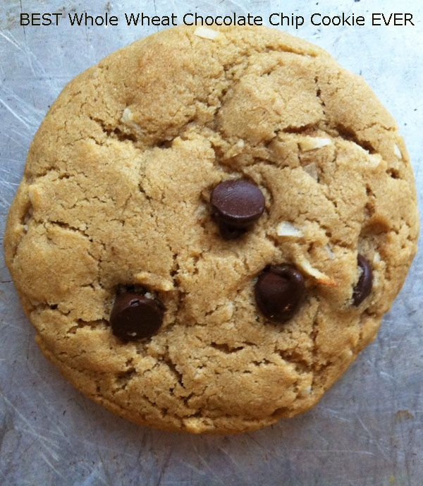 Thick and Chewy Whole Wheat Chocolate Chip Cookies | Recipe