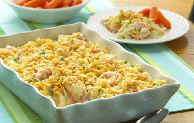 Seafood casserole favorite recipes pinterest for Fish casserole recipes