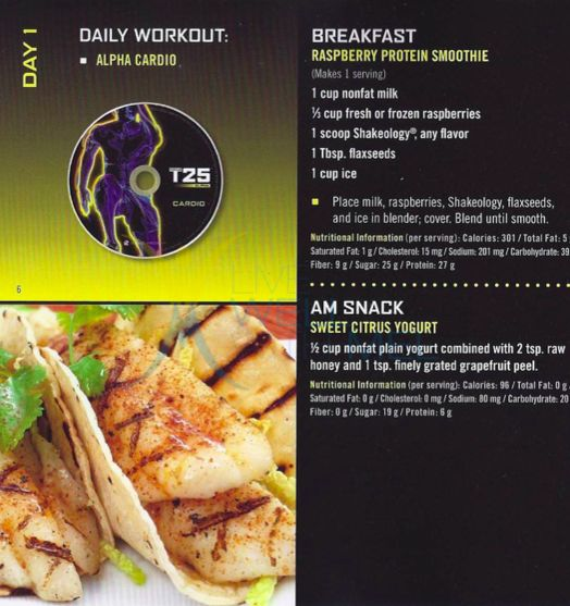 It Done Nutrition Guide T25 PDF Download