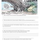 This is a worksheet used to get students to analyze a political ...