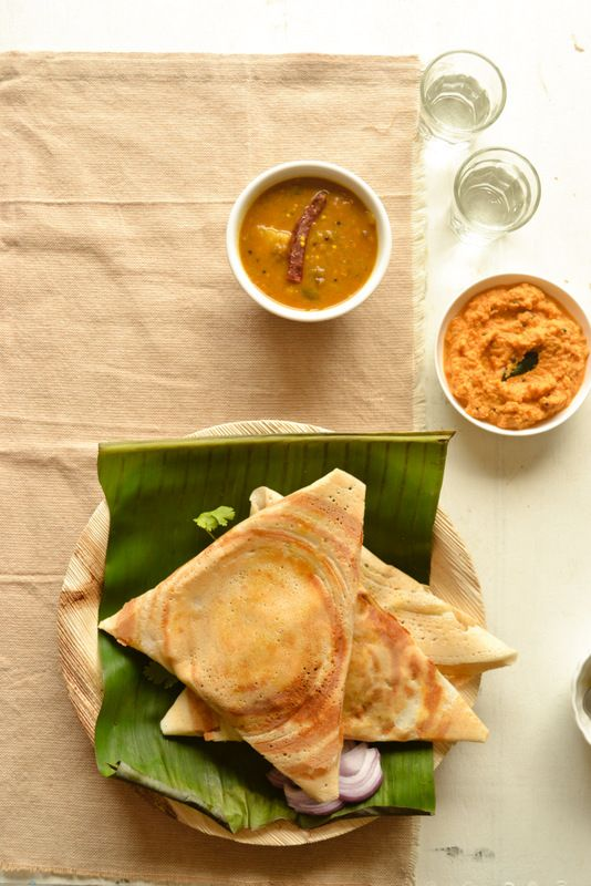 Masala dosa-thin rice and lentil crepes ,stuffed with potato masala ...