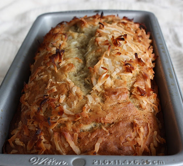 Coconut Banana Bread with Lime Glaze | Bread/Pizza | Pinterest