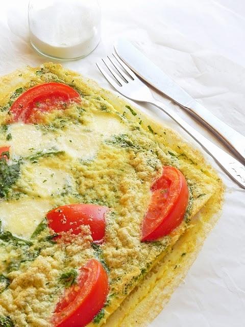 Spinach, mozzarella, and tomato frittata | Favorite Recipes | Pintere ...