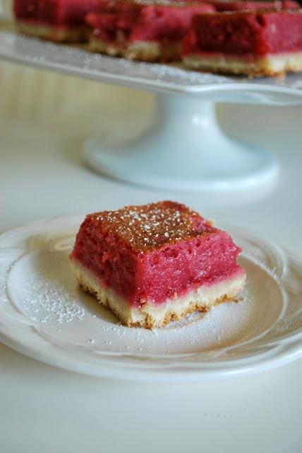 Raspberry Lemon Bars . . . | Sweet Treats | Pinterest