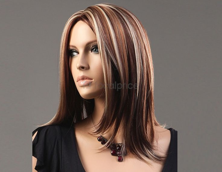 Brunette Hair With Highlights For Older Women Over 50 ...