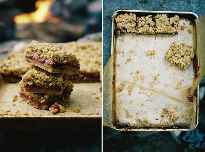 Whole Wheat Plum Crumb Bars from Apt 2B | baking | Pinterest
