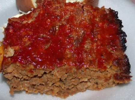 Mom's Meat-Loaf Recipe | Soul Food | Pinterest
