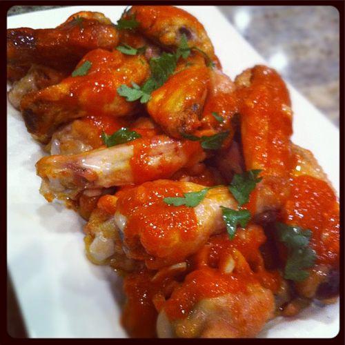 Crispy Baked Chicken Wings   I made!   Pinterest