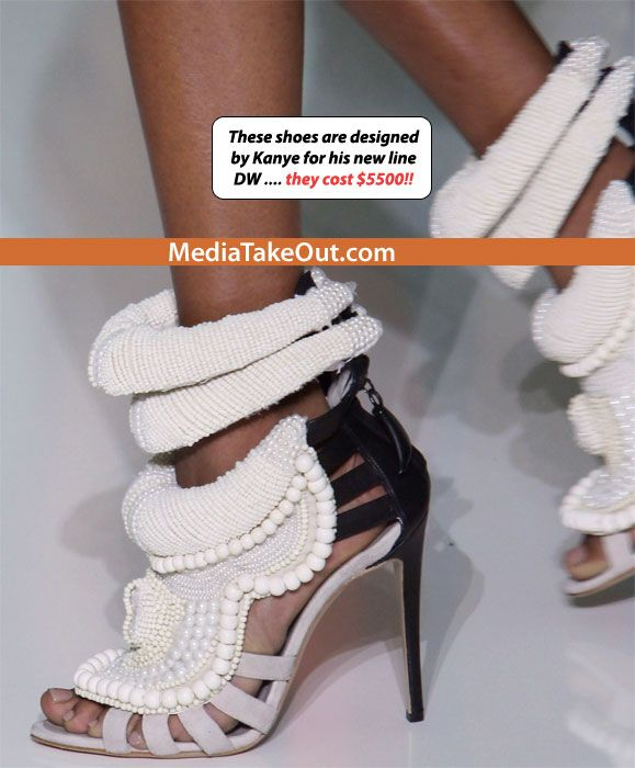 Kanye West new shoe line for women