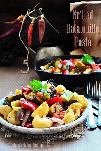 Grilled Ratatouille Pasta | i cooking | Pinterest
