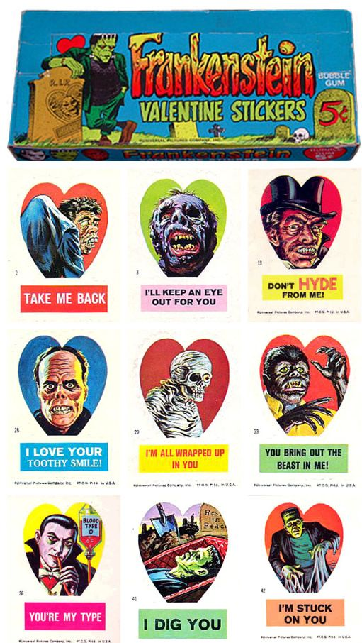 zombie valentine's day box