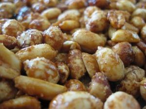 homemade honey roasted nuts | Yummy Stuff | Pinterest