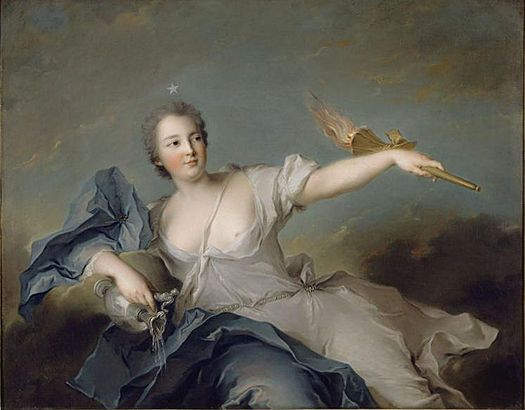 October 5 1717 born marie anne de mailly the youngest of the five