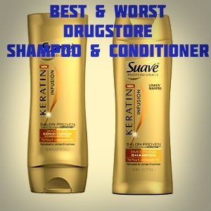 Best & Worst Drugstore Shampoo and Conditioner | Drugstore buy