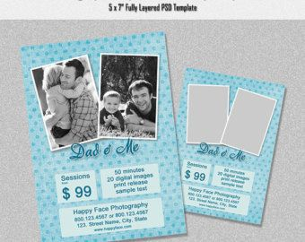 fathers day flyer template free