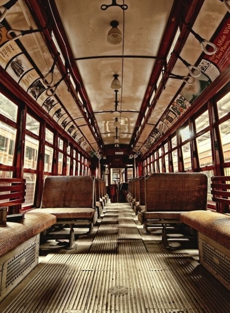 Train interior retro vintage interiors pinterest Vintage interior