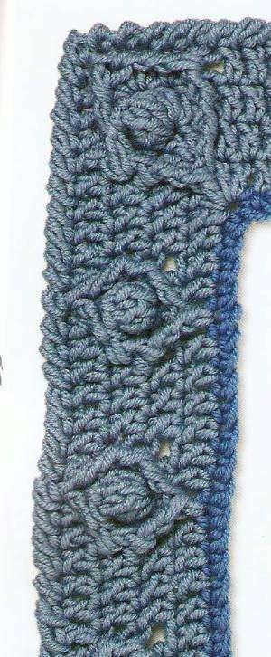 Crocheting Borders : crochet border Crochet Pinterest
