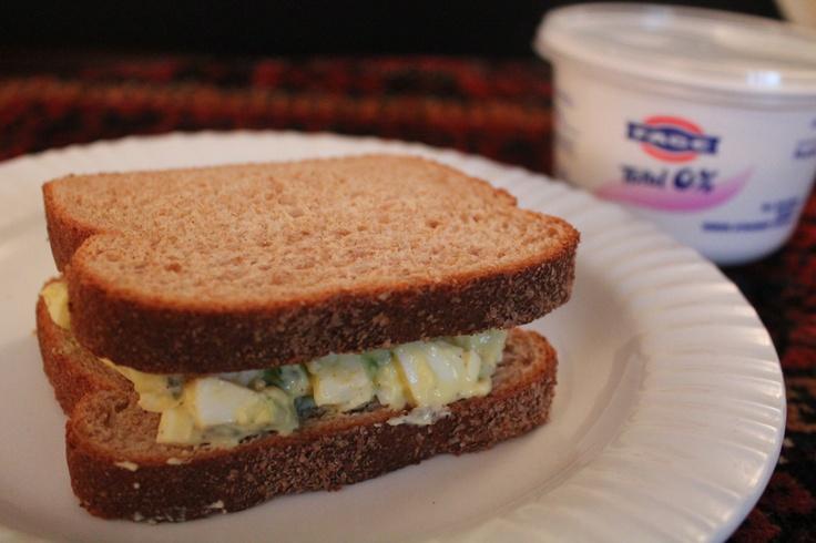 Greek Yogurt Egg Salad Sandwiches | Cooking with Greek Yogurt ...