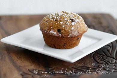 Pumpkin-Applesauce-Muffins-3-for-web | breakfast | Pinterest