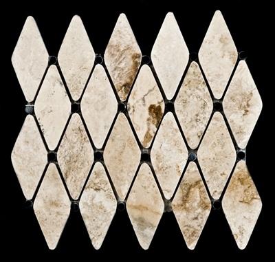 backsplash diamond pattern decorating pinterest