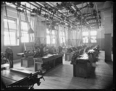 Jamaica High School, Queens: woodworking shop - April 21, 1927From the ...