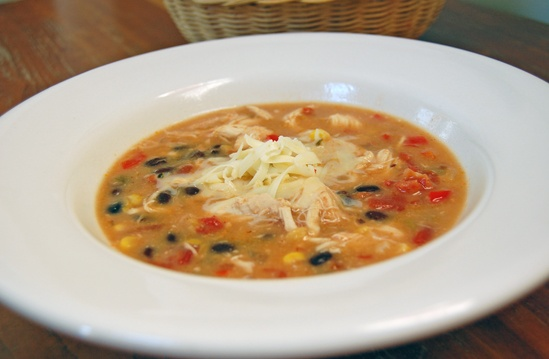 Chicken Enchilada Soup in the Slow Cooker | Recipe