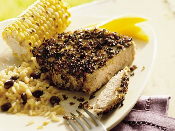 Grilled Cuban Pork Chops-these pork chops are blow your mind good! not ...