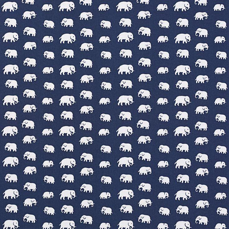 Textil Elefant Bomull | Svenskt Tenn