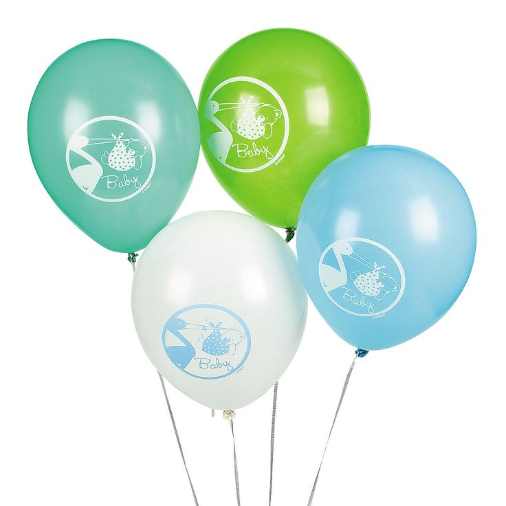 comforting air to baby shower decorations and for welcoming the baby