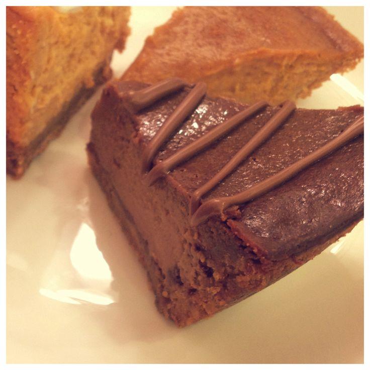 Triple Chocolate Pumpkin Pie | Baking | Pinterest